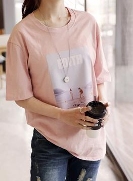 イディス半袖TシャツC032338