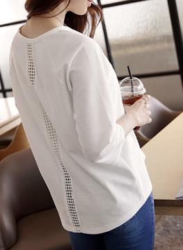 レースバックTシャツC032818