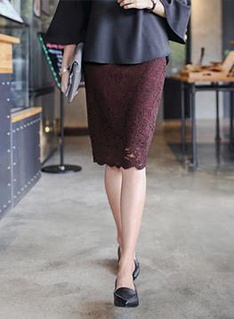 ジアレースのスカートC090628