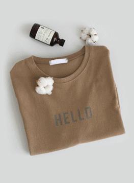 ハロー捺染TシャツC112953