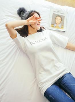 ボンジュールピッチTシャツC010454