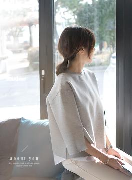 ネオシャツ配色ティーC011239