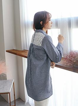 図形レースSTシャツC011653