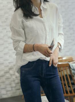 ルーズフィットポケットシャツC011174