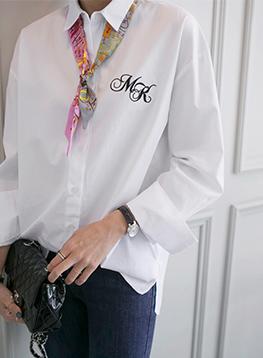 エムケイ刺繍シャツC012646
