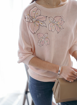 花の刺繍エイニットC041351