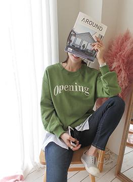 オープン刺繍マンツーマンティーC101805