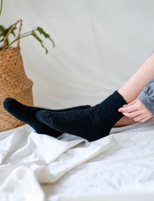 クリーミーな睡眠靴下C120621