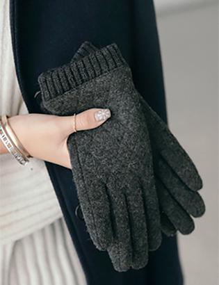キルティングスマート手袋C120840