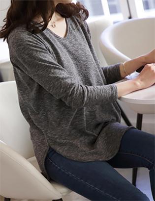 ライニングVのTシャツC020357