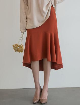 モメラインスカートC090657