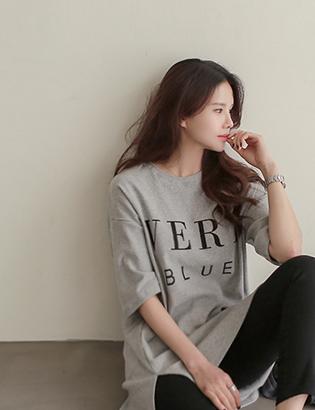 ベリー捺染TシャツC011712