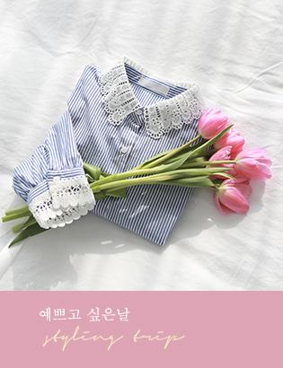 レイストライプシャツC012262
