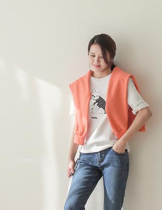 アデンブルドッグTシャツC012402