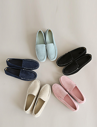 ステッチラウンド靴C020122