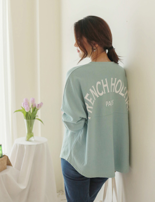 フレンチ切開TシャツC031546