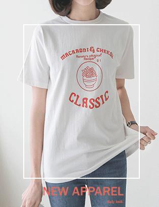 マカロニ半袖TシャツC041643