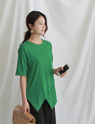 アートラウンドTシャツC051505