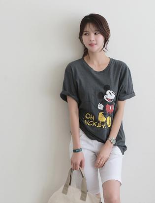 外出ミッキーTシャツC060408